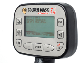 Golden Mask 5+ SE SILVER - panel