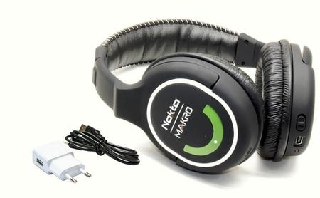 słuchawki bezprzewodowe 2.4GHz Green Edition