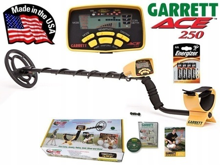 Garrett ACE 250 -zestaw