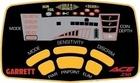 Garrett ACE 250 -panel