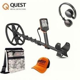 Wykrywacz  metali Quest Q30  PRO - (torba camo i czapka Questa)