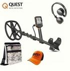 Wykrywacz  metali Quest Q30  PRO - (torba camo i czapka Questa) (1)