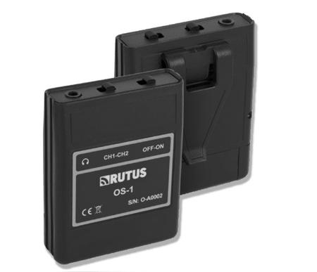 RUTUS odbiornik słychawkowy w systemie bezprzewodowym